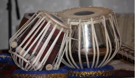 Die Tablas des Pandit Hom Nath Upaghyaya