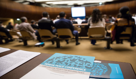 Genfer Friedenskonferenz